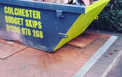 Skip drop in Ardleigh, Colchester
