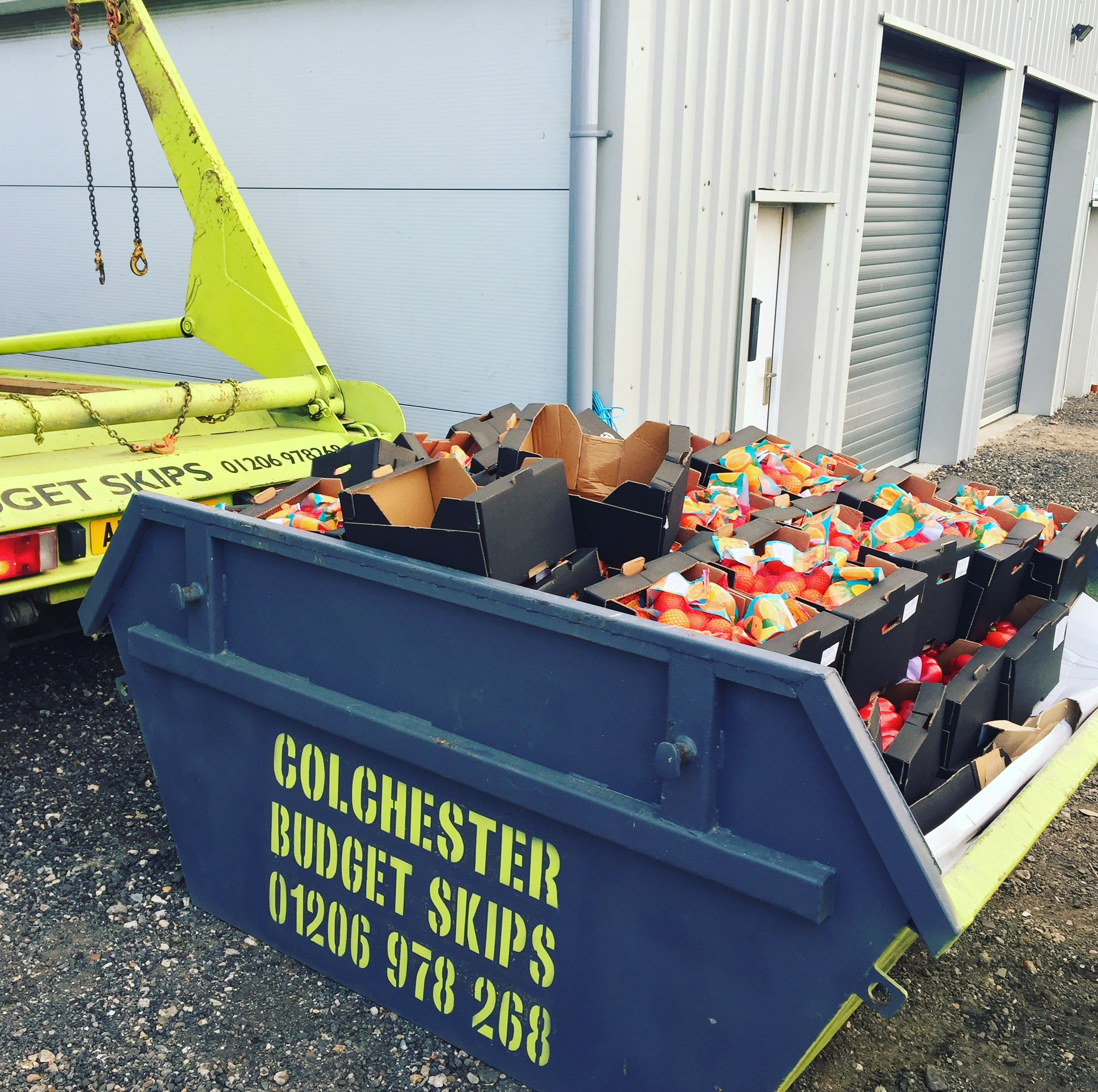Skip Hire in Gt Horkesly, Colchester