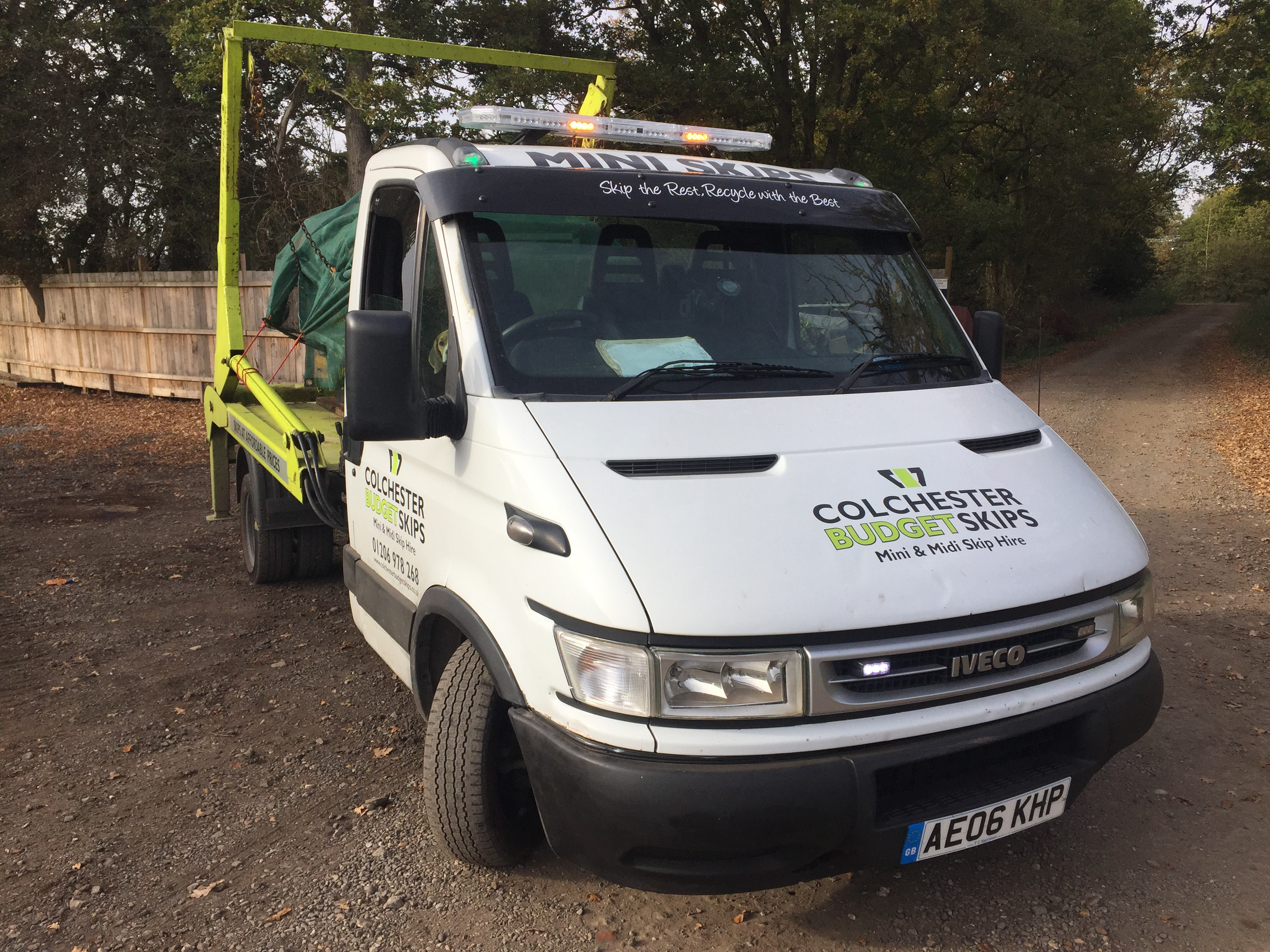 Clean Truck Skip Hire Colchester